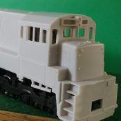 HO Scale GE ATSF/BN U23C Engine Shell Locomotive Shell