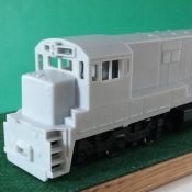 HO Scale GE Conrail / Penn Central U23C Engine Shell