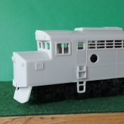 HO Scale CNW E-8 Crandall Cab Locomotive Shell
