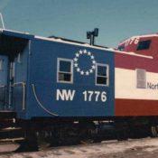 Norfolk Western C-18 Bicentennial Caboose Decals