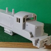 HO Scale EMD RS-1325 Locomotive Shell and Frame