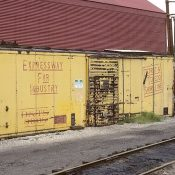 Detroit, Toledo and Shore Line Yellow Box Car Decals