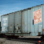 Detroit, Toledo and Shore Line 50′ Box Car Decals