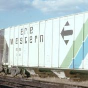 Erie Western Covered Hopper Decals (ERES)