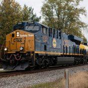 """CSX """"Safety Train"""" Locomotive Decals CSX 3099"""