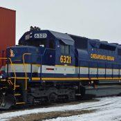 Chesapeake & Indiana Railroad Locomotive Decals