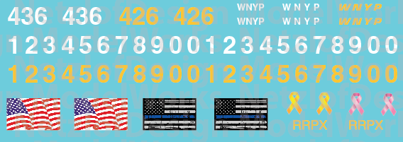 WNYP Patch Out Decal Set