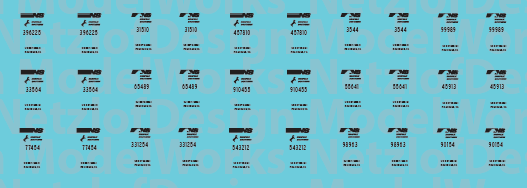 Norfolk Southern MOW Decals