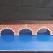 N Scale T-TRAK Stone Arch Bridge – Double Module