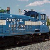 Conrail Express Locomotive Decal Set