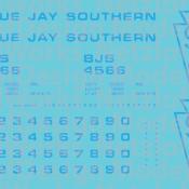 Blue Jay Southern Box Car (BJS) – Blue Lettering