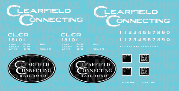 Clearfield Connecting Railroad Box Car