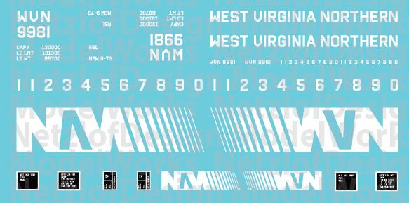 West Virginia Northern Box Car