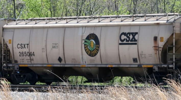 CSX Grain Service Hopper