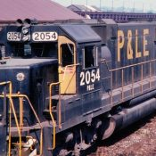 Pittsburgh & Lake Erie GP38-2s (Big Logo) Locomotive Decals