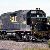 Pittsburgh & Lake Erie Ex-Conrail GP38s (Small Logo) Locomotive Decals