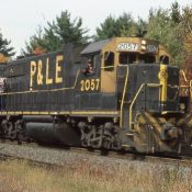 Pittsburgh & Lake Erie GP38-2s Ex-Rock Island (Yellow Cab) Locomotive Decals