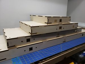 HO Scale Straight Modules