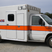 Generic Striped Ambulance Decals