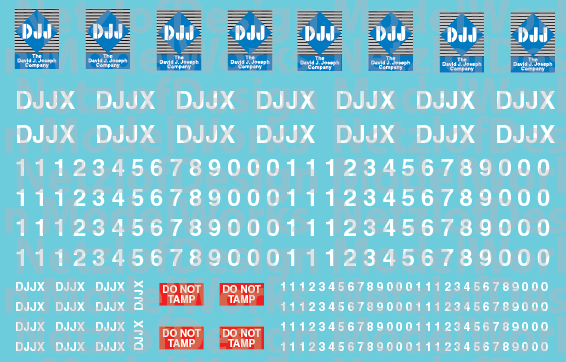 DJJX Patch Out Decals