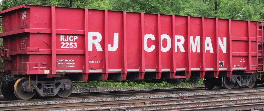 RJ Corman Hopper Decals