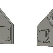 CSX Ditch Light Housing Detail Part