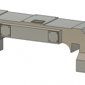 Horst Air Filter – Angled Long Detail Part
