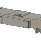 Horst Air Filter – Angled Short Detail Part