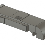 Horst Air Filter – Rounded Short Detail Part