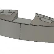 Chessie Rock Plow Detail Part