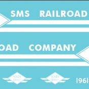 SMS Lines B23-7 1961 Decal Set