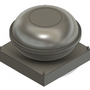 Small Round GPS Dome Detail Part