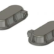 Wabtec Small PTC Antenna Unit Detail Part