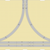 N Scale T-TRAK Branchline Module