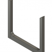 N Scale Detail Parts – National Steel Tall Log Bunk