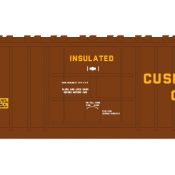 Pennsylvania Railroad X58 Box Car LD Decal Set