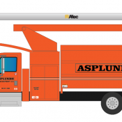 Asplundh Tree Trimming Vehicle Decals