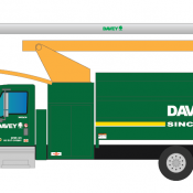 Davey Tree Trimming Vehicle Decals