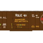 Rule 90 Bad Order Decals