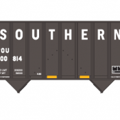 Southern 100T 2 Bay Open Hopper Decals