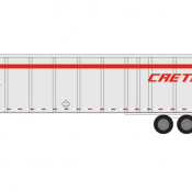 Semi-Trailer Crete Decals