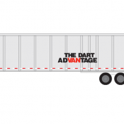 Semi-Trailer Dart Advantage Decals