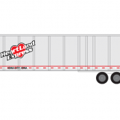 Semi-Trailer Heartland Express Decals
