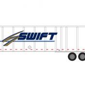 Semi-Trailer Swift Decals