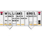 Blue Circle Williams Bros 100T 2 bay Hopper