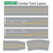 Easy Streets Center Turn Lanes