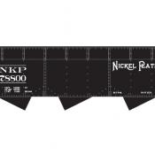 Nickle Plate 3 bay Off Set Open Hopper Decals