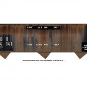 Coke Loading Stencils Decal Set