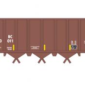 Farmrail (GNBC) Open Hopper Ortner Brown Decals