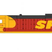 Santa Fe Locomotive GP35 Kodachrome Scheme Decals